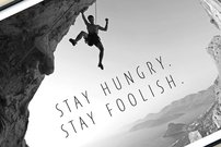 50% Rabatt auf Apple-Poster:<b> Stay hungry. Stay foolish.</b></b>
