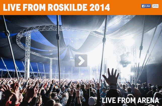 Roskilde 2014 im Live-Stream sehen - kostenlos und legal