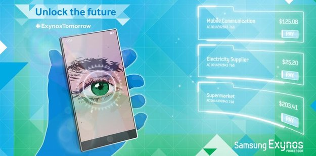 Samsung: Tweet deutet Retina-Scanner für kommende Smartphones an