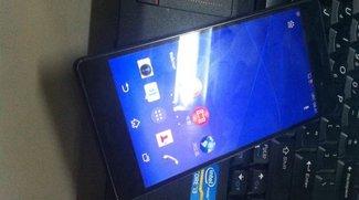 Sony Xperia Z3: Zwei weitere Bilder geleakt