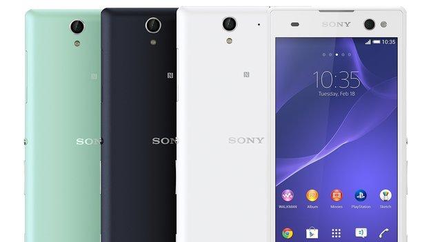 "Sony Xperia C3: ""PROselfie""-Phablet mit Frontblitz vorgestellt"