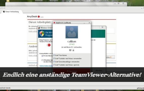 Teamviewer Alternative AnyDesk: Der bessere Teamviewer?