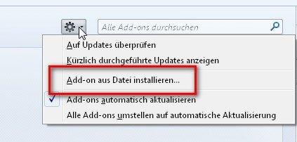 Um den Google Kalender in Thunderbird zu nutzen, müssen wir zuerst Lightning installieren
