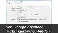 Thunderbird und Google-Kalender synchronisieren: So geht's!