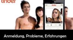 Tinder App: Anmeldung mit und ohne Facebook-Verbindung