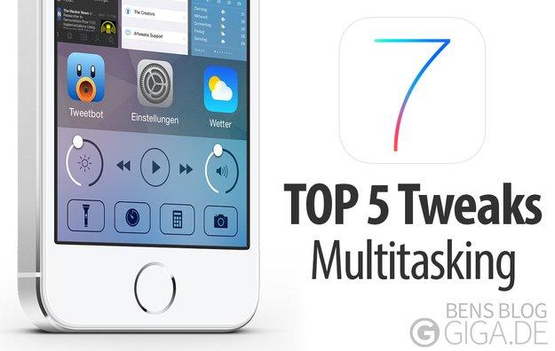 Top 5 Jailbreak-Tweaks für besseres iOS 7 Multitasking