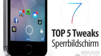 Top 5 Jailbreak-Tweaks für den iOS 7 Sperrbildschirm