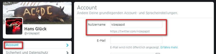 So Einfach Lässt Sich Ein Twitter Name ändern GIGA - Minecraft namen andern geht nicht