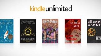Amazon veröffentlicht eBook-Flatrate Kindle Unlimited (nicht für Deutschland)