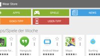 Wear Store: Android-App listet zahlreiche Android Wear-kompatible Apps