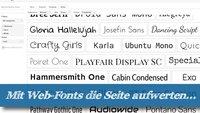 Top 10 Web-Fonts: Neue Typo-Designs aus dem Google-Fundus