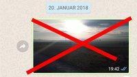 WhatsApp: Bilder löschen – so geht's