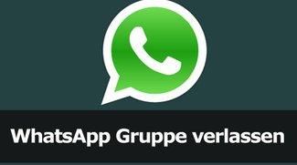 WhatsApp Gruppe verlassen - so geht's