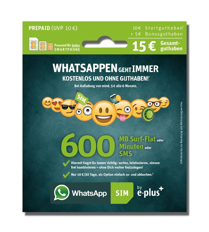 prepaid karte kaufen WhatsApp SIM Karte: Vorteile, Kosten und wo kaufen?