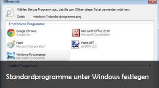Standardprogramme festlegen und ändern: so geht's unter Windows