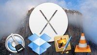 OS X 10.10 Yosemite: Kompatible und inkompatible Apps, Programme und Anwendungen