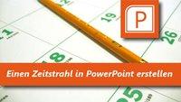 Zeitstrahl in PowerPoint erstellen - Schritt für Schritt