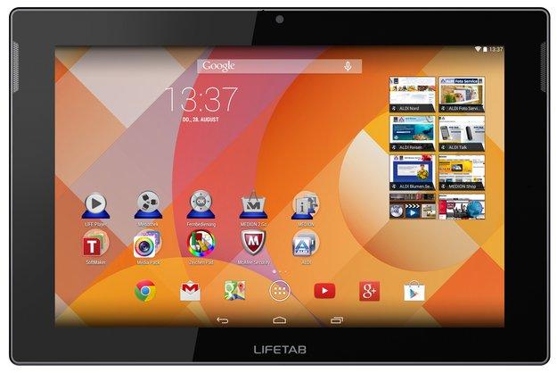 ALDI-Tablet: 10-Zoller Medion Lifetab S10334 mit KitKat & Quad Core ab 28. August