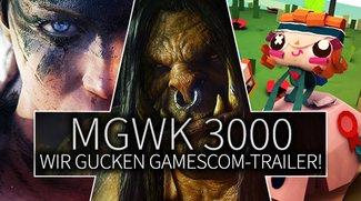 MGWK 3000 GC-Special: Wir gucken die Trailer der gamescom 2014!