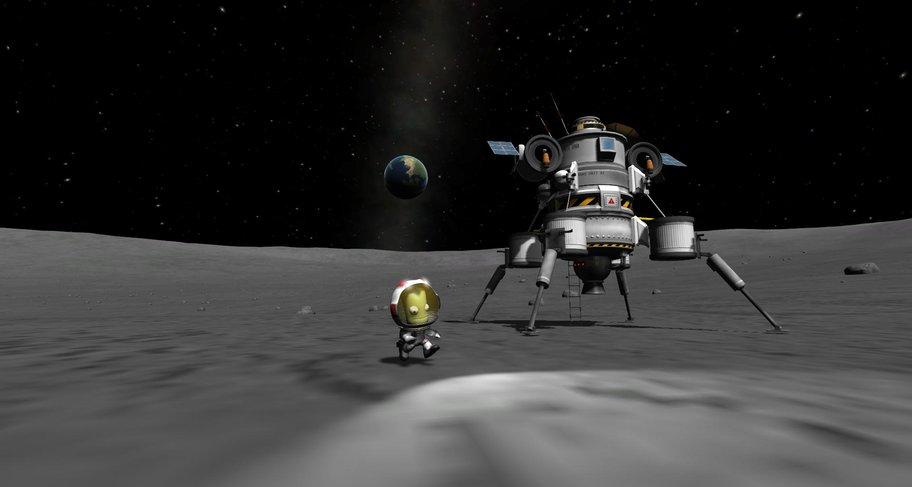 Kerbal Space Program: ...Aber ein großer Schritt für die Kerbelheit