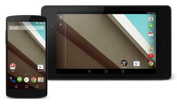 Android L Developer Preview: Neue Images verfügbar