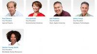 Apple erweitert Leadership-Info um fünf Vizepräsidenten
