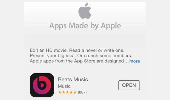US-App Store: Apple nimmt Beats Music in sein App-Portfolio auf