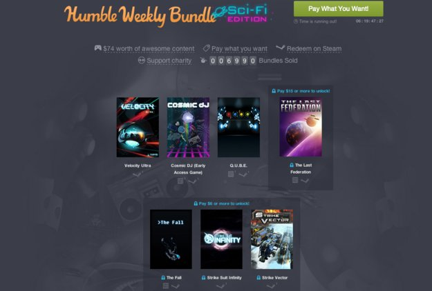Humble Weekly Sale: Die Sci-Fi-Edition schickt euch ins All