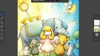 Corel Painter Mobile: Neues Zeichenprogramm veröffentlicht, optimiert für Geräte mit Stylus