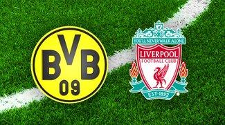 FC Liverpool - Borussia Dortmund im Online-Live-Stream und TV: Anstoß und Infos