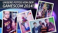 gamescom 2014: Backstage auf der Spielemesse!