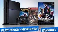 Gewinnt eine PlayStation 4 zum Kinostart von Guardians of the Galaxy!