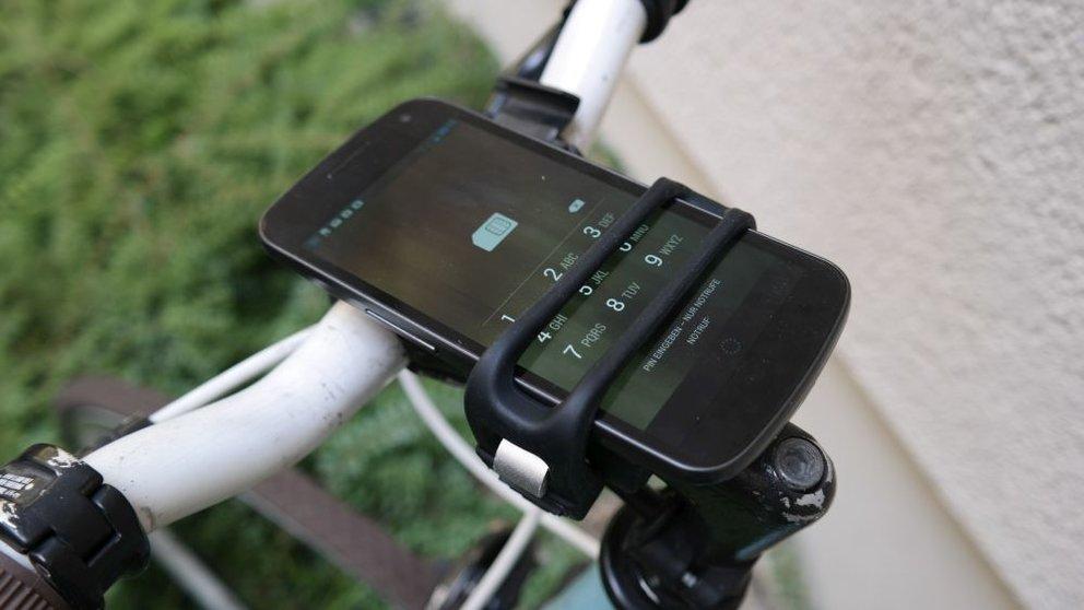 HandleBand im Test: Die Smartphone-Halterung für euer Fahrrad
