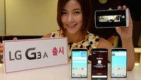 LG G3 A: Abgespeckte Variante mit 5,2 Zoll vorgestellt