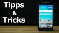 LG G3: Nützliche Tipps und Tricks