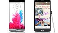 LG G3 vs. LG G3 Stylus: Die Daten im Vergleich