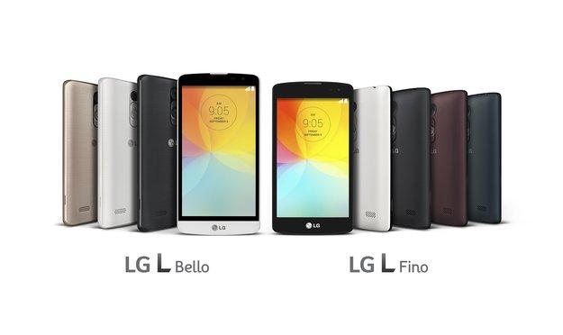 LG L Fino & L Bello: Einsteigergeräte mit LG G3-Design und -Features bald in Deutschland erhältlich