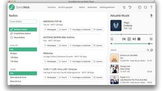 SonicWeb: Radio-Rekorder für den Mac