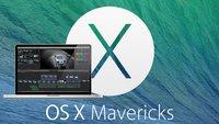 Fehlerbehebungen für Final Cut und neue Beta für OS X Mavericks
