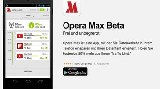 Opera Max Beta: App reduziert Datentraffic um bis zu 50 Prozent