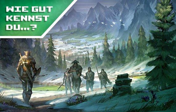 Wie gut kennst du The Elder Scrolls (Quiz)