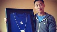 Apple-Angestellter Sam Sung: Visitenkarten-Auktion endet bei 2.653 US-Dollar