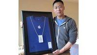 Apple und Sam Sung: 80.200 US-Dollar für ungewöhnliche Visitenkarte