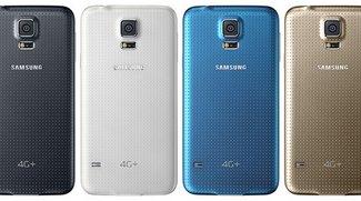 Samsung Galaxy S5 4G+: Geräte-Variante mit Snapdragon 805-SoC und Full HD-Display offiziell