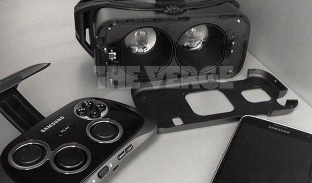 Samsung Gear VR: Erstes Bild der Oculus-Rift-Alternative aufgetaucht