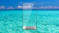 Sharp Aquos Crystal & Crystal X: Smartphone-Modelle beinahe ganz ohne Rahmen vorgestellt