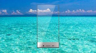 Sharp Aquos Crystal &amp&#x3B; Crystal X: Smartphone-Modelle beinahe ganz ohne Rahmen vorgestellt