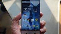 Sharp Aquos Crystal: Futuristisches Smartphone im Hands-On; Telefonie funktioniert über Vibrationen