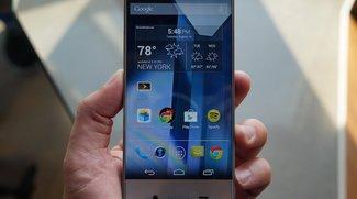 Sharp Aquos Crystal: Futuristisches Smartphone im Hands-On&#x3B; Telefonie funktioniert über Vibrationen