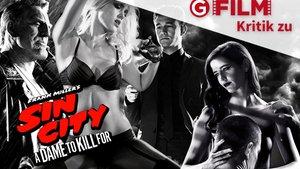 """SIN CITY 2: A Dame to Kill For"" Kritik & Trailer Deutsch German Review | Frank Miller [HD]"